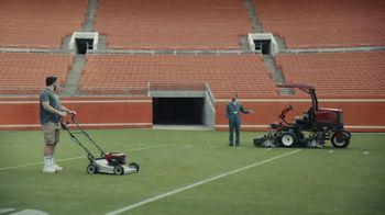 Progressive TV Spot, 'Baker Mayfield Mows His Lawn'
