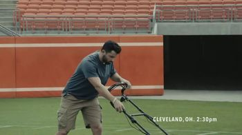 Progressive TV Spot, 'Baker Mayfield Mows His Lawn'