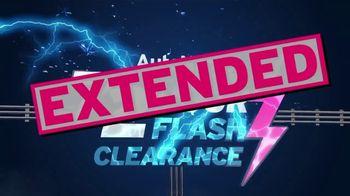 AutoNation 72 Hour Flash Clearance TV Spot, 'Extended: Huge Savings Continue'