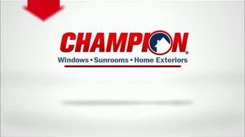 Champion Windows Best Sale of the Year TV Spot, '50% Off Windows: 35% Off Siding' - Thumbnail 8