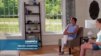 Champion Windows Best Sale of the Year TV Spot, '50 Percent Off Windows: 35 Percent Off Siding' - Thumbnail 4