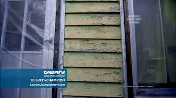 Champion Windows Best Sale of the Year TV Spot, '50 Percent Off Windows: 35 Percent Off Siding' - Thumbnail 5