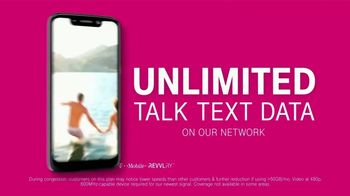 T-Mobile Unlimited Talk, Text and Data TV Spot, 'Magic' Song by The Cars - Thumbnail 3