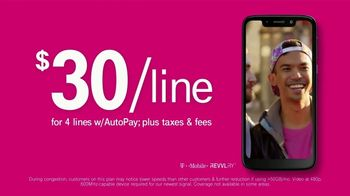 T-Mobile Unlimited Talk, Text and Data TV Spot, 'Magic' Song by The Cars - Thumbnail 5