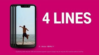 T-Mobile Unlimited Talk, Text and Data TV Spot, 'Magic' Song by The Cars - Thumbnail 7