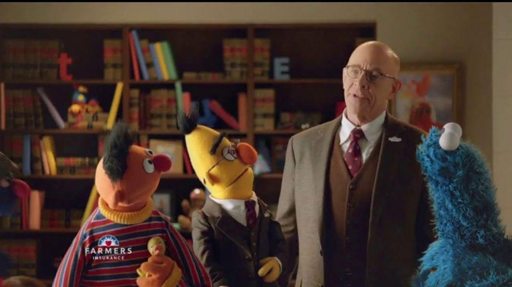 Farmers Insurance TV Commercial, 'Sesame Street: Welcome ...