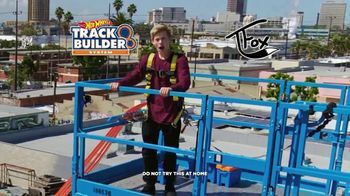 Hot Wheels Track Builder System TV Spot, 'Epic Vertical Launch' Featuring Tanner Fox