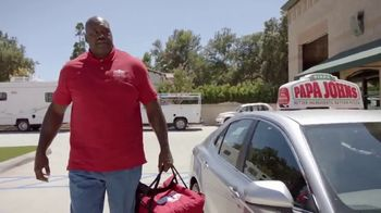 Papa John\'s TV Spot, \'A Better Day in the World\' Featuring Shaquille O\'Neal, Song by Bill Withers
