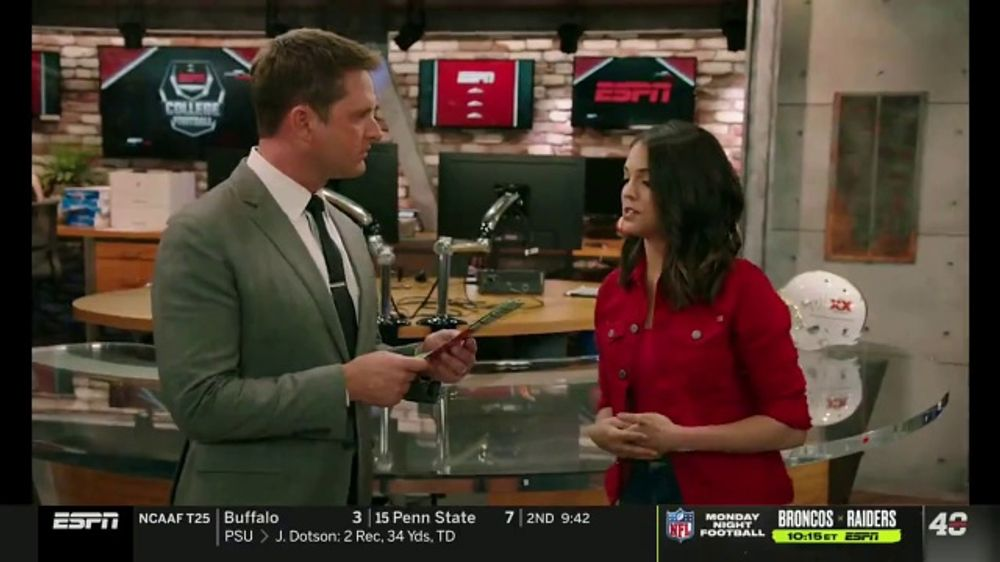 Dos Equis TV Commercial, 'College Football Football College' Featuring Katie Nolan, Todd McShay