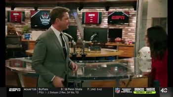 Dos Equis TV Spot, 'College Football Football College' Featuring Katie Nolan, Todd McShay - Thumbnail 1
