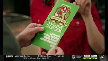 Dos Equis TV Spot, 'College Football Football College' Featuring Katie Nolan, Todd McShay - Thumbnail 3