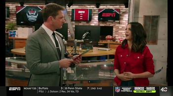 Dos Equis TV Spot, 'College Football Football College' Featuring Katie Nolan, Todd McShay - Thumbnail 5