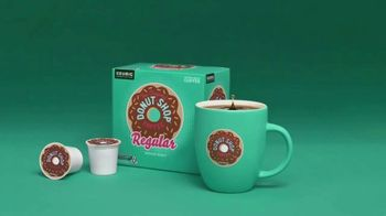 Keurig The Original Donut Shop Coffee TV Spot, 'Reach for the Teal' - Thumbnail 9