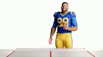 Pizza Hut TV Spot, 'Donald Ping Pong Party' Featuring Aaron Donald