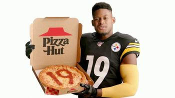 Pizza Hut TV Spot, 'Pizza With JuJu' Featuring JuJu Smith-Schuster - Thumbnail 6