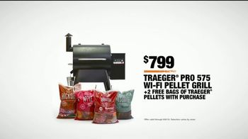 The Home Depot TV Spot, 'College GameDay: Traeger Pro 575 Wi-Fi Pellet Grill' - Thumbnail 10