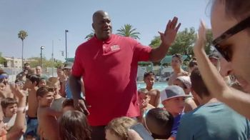 Papa John's TV Spot, 'Better Day in the Store' Featuring Shaquille O'Neal, Song by Big Boi