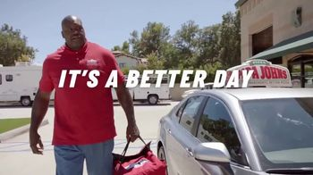 Papa John's TV Spot, 'Better Day in the Store' Featuring Shaquille O'Neal, Song by Big Boi - Thumbnail 9
