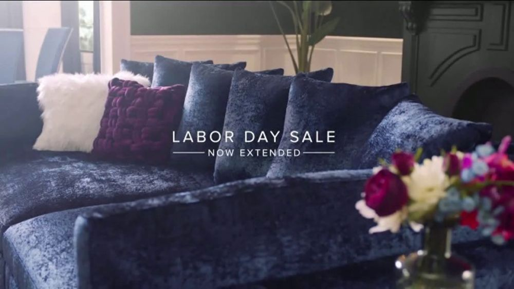 American Signature Furniture Labor Day Sale TV Commercial, 'The More You Buy, the More You Save'