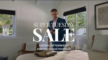 JoS. A. Bank Super Tuesday Sale TV Spot, 'September 2019: Shirts, Suits and Clearance' - Thumbnail 1