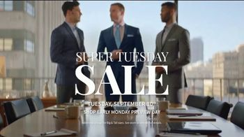 JoS. A. Bank Super Tuesday Sale TV Spot, 'September 2019: Shirts, Suits and Clearance' - Thumbnail 8