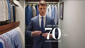 JoS. A. Bank Super Tuesday Sale TV Spot, 'September 2019: Shirts, Suits and Clearance'