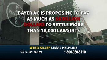 Cutter Law, P.C. TV Spot, 'Weed Killer Legal Helpline' - Thumbnail 4
