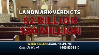 Cutter Law, P.C. TV Spot, 'Weed Killer Legal Helpline' - Thumbnail 7
