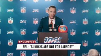 Tide PODS Ultra OXI TV Spot, 'Peyton Manning Declares Tuesday the Official Laundry Night' - Thumbnail 6