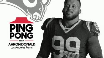Pizza Hut $7.99 Large 3-Topping Pickup Deal TV Spot, 'Hut Hut Win With Aaron Donald' - 52 commercial airings