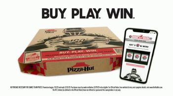 Pizza Hut $7.99 Large 3-Topping Pickup Deal TV Spot, 'Hut Hut Win With Aaron Donald' - Thumbnail 9