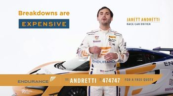 Endurance Direct Vehicle Protection Plan TV Spot, 'Can You Afford a Breakdown?' Ft. Jarett Andretti - Thumbnail 1