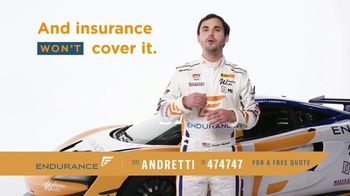 Endurance Direct Vehicle Protection Plan TV Spot, 'Can You Afford a Breakdown?' Ft. Jarett Andretti - Thumbnail 2