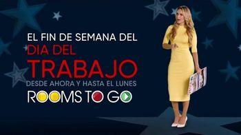 Rooms to Go Venta del Día del Trabajo' TV Spot, 'Fin de semana' con Ximena Córdoba [Spanish] - Thumbnail 2