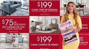 Rooms to Go Venta del Día del Trabajo' TV Spot, 'Fin de semana' con Ximena Córdoba [Spanish] - Thumbnail 4