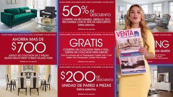Rooms to Go Venta del Día del Trabajo' TV Spot, 'Fin de semana' con Ximena Córdoba [Spanish] - Thumbnail 6