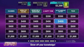 America's Greatest Game Shows: Wheel of Fortune & Jeopardy! TV Spot, 'Play With Friends' - Thumbnail 4