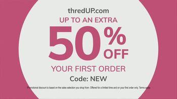 thredUP TV Spot, 'The Cure for the Common Closet: 50 Percent' - Thumbnail 6