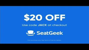 SeatGeek TV Spot, 'Jack's Guarantee: Baseball Tickets: $20 Off - Thumbnail 8