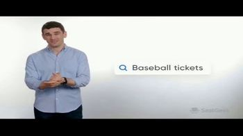 SeatGeek TV Spot, 'Jack's Guarantee: Baseball Tickets: $20 Off - Thumbnail 4