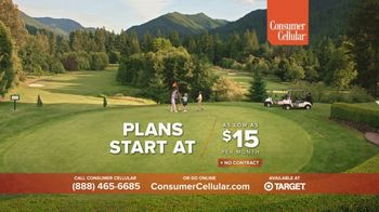 Consumer Cellular TV Spot, 'The Best Fit:  First Month Free: Plans $15+ a Month'