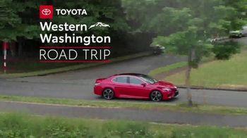 2019 Toyota Camry TV Spot, 'Road Trip: Seafood' Featuring Danielle Demski, Ethan Erickson [T2] - Thumbnail 1