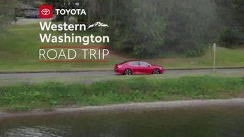 2019 Toyota Camry TV Spot, 'Road Trip: Seafood' Featuring Danielle Demski, Ethan Erickson [T2] - Thumbnail 2