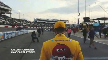 Richmond International Raceway TV Spot, '2019 NASCAR: All In'