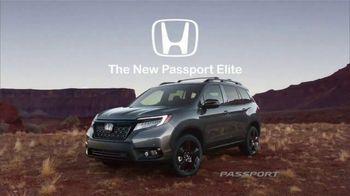 2019 Honda Passport Elite TV Spot, 'Destination: Adventure' Song by Wolfmother [T1] - Thumbnail 9