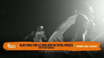 DraftKings TV Spot, 'Sunday Sweat' - Thumbnail 3