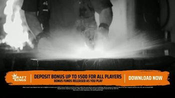 DraftKings TV Spot, 'Sunday Sweat' - Thumbnail 6
