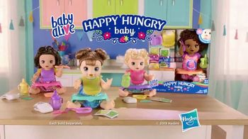 Baby Alive Happy Hungry Baby TV Spot, 'She's Happy and Hungry' - Thumbnail 7