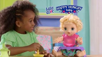 Baby Alive Happy Hungry Baby TV Spot, 'She's Happy and Hungry' - Thumbnail 1