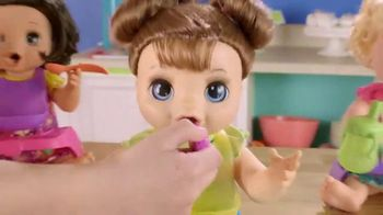 Baby Alive Happy Hungry Baby TV Spot, 'She's Happy and Hungry' - Thumbnail 6